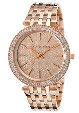 Michael Kors Women's MK3399 Darci Round Rose Gold-tone Bracelet Watch