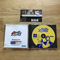 The King of Fighters 95 W/spine KOF - PlayStation 1 PS1 - Japan JPN - SNK Retro