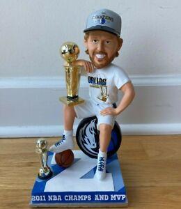 Dirk Nowitzki NBA Champion Finals MVP Bobblehead Bobble Z Dallas Mavericks RARE