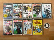 Sony PSP Spielesammlung 10 Spiele