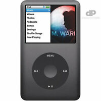 NEW! Apple iPod Classic 6th Generation Black / Space Grey / Silver 80GB WARRANTY