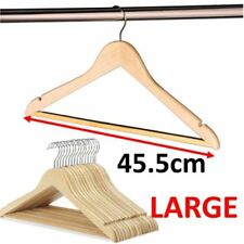 Clothes Hangers with Trouser Bar