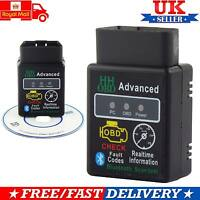 Bluetooth OBD2 V2.1 New ELM327 Android Car Scanner Torque Auto DTCs Scan Tool UK
