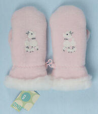 New Gymboree Oodles of Poodles Pink Mittens 1 Pair Vintage Nos 4-5 Years M/L Nwt