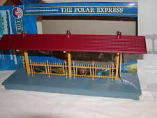 Lionel 6-37829 The Polar Express Illuminated Station Platform O 027 New MIB 2015