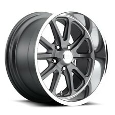 20x9.5 Us Mag Rambler U111 5x5.0 ET1 GunMetal Matte Wheels (Set of 4)