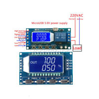 Signal PWM Pulse Generator LCD 5V Trigger Time Delay Relay Module Circuit Switch
