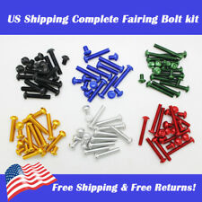 Fairing Bolt Screw Kit Fit for Suzuki Honda Yamaha Aprilia Ducati Fatsteners New