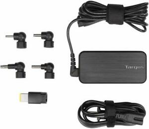 Targus 65W AC Ultra-Slim Universal Laptop Charger 6ft Cable 5 Tips. (APA92US)