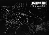 Lupin III Third Jigen Gravestone Original Art works Book Illustration JP
