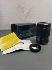 Samyang Mirror Lens 500mm f8 Manual Focus Lens + Contax Yashica mount adapter
