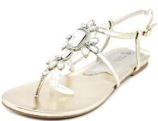 Mootsie Tootsies Bamboo Open Toe Synthetic Thong Sandal Size 8