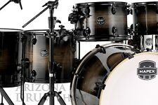 Mapex ARMORY 6 piece Studioease FAST Shell Pack NEW 2018 Black Dawn - In Stock!