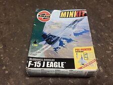 Airfix minkit (pre-pintado) F-15 J Eagle (304th) 1/144 Escala Kit Sin A50027