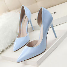 Women Rhinestone High Heels Pointed toe Stiletto Pumps OL shoes High Heels