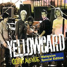 FREE US SHIP. on ANY 2 CDs! ~Used,VeryGood/Good CD Yellowcard: Ocean Avenue (Bon