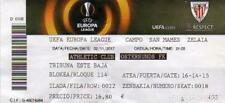 TICKET MINT ATHLETIC BILBAO-OSTERSUNDS SWEDEN 17-18 VERY RARE