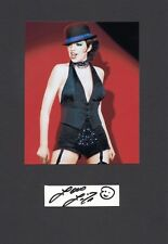 Liza Minelli - original Signierung mit schönem Foto - CABARET