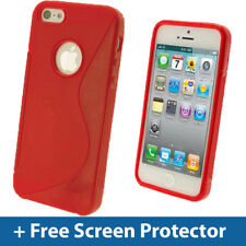 Red Dual Tone TPU Case for New Apple iPhone 5 5S 5C SE Mobile Phone 4G LTE Cover