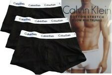 Calvin Klein 3er-pack boxers low Rise Trunks color negro talla S M L XL