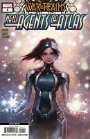 War of Realms New Agents of Atlas #1 (2nd Print / Jee Hyung Lee / 2019 / NM)