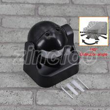 BLACK STAND ALONE PIR 180 DEGREE MOTION SENSOT DETECTOR FOR SECUTITY LIGHTING