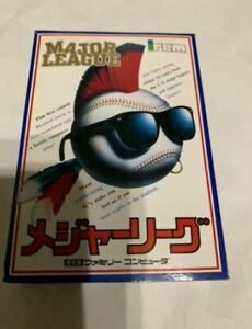 New ! Major League / FC NES Nintendo Famicom software Japanese version