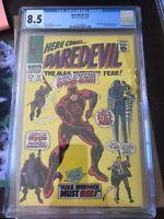 Daredevil #27, CGC VF+ 8.5, Spider-Man