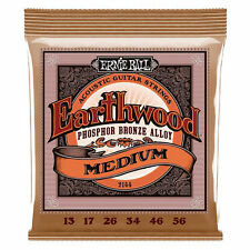 Ernie Ball P02144 Medium Earthwood Phosphor Bronze .013 - .056