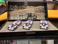 1/43 Minichamps Porsche 956L Wins 1982 24H of LeMans 1-2-3 3 car set