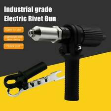Pop Insert Nut Adaptor Drill Adapter Electric Rivet Gun Cordless Riveting Tool