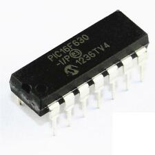 25PCS PIC16F630-I/P 16F630 DIP-14 Flash 14-pin MC DIP14 8-bit Microcontroller