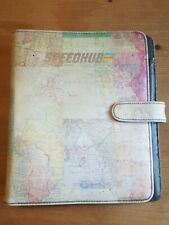 Paperchase A5 Filofax-type Organiser World Map design with new stationary packs.