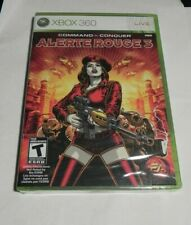 Command & Conquer: Alerte Rouge 3 (Microsoft Xbox 360, 2008)   NEW SEALED   FAST