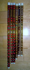 Dizi x 2 pieces two flutes (Chinese bamboo flute, decent quality entry level)
