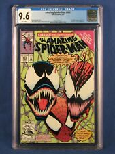 MARVEL COMICS CGC 9.6 THE AMAZING SPIDER MAN 363 6/92 WHITE PAGES