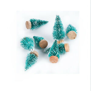 8pcs Christmas Tree Mini Artificial Trees Christmas Decorations for Home