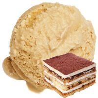 Gino Gelati Tiramisu Geschmack Eispulver Softeispulver 1:3 - 1 kg