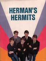 HERMAN'S HERMITS 1965 U.S. TOUR CONCERT PROGRAM BOOK / PETER NOONE / VG 2 NMT