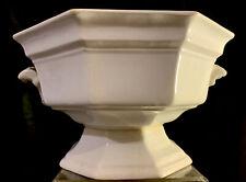Antique Important IRONSTONE China ~Dieu et Mon Droit~ J.F. GRANDE Pedestal Bowl