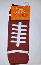 LITTLE WISHES~Brown Football Baby LEG WARMERS ~6-12M~FREE SHIPPING