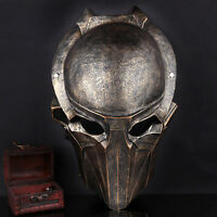 Adult Resin Alien Vs Predator Movie Warrior Eagle Mask Halloween Costume Prop