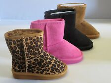Girl Winter Boots TGGS (aling8) TODDLER Blacks Camel Coral