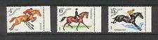 Russia 1982 HORSES/Sports/Animals/Nature 3v set n17764