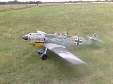 1/5 scale MESSERSCHMITT BF-109 E-4 scratch build R/c Plane Plans 78 in. wingspan