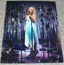 DANIELLE BRADBERY SIGNED AUTOGRAPH THE VOICE 8x10 PHOTO I w/EXACT VIDEO PROOF