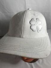 Black Clover Live Lucky Snapback Hat White