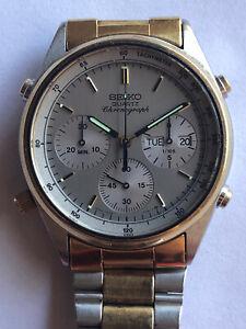 Seiko Men's Chronograph Quartz Watch - Japan 7A38-7280