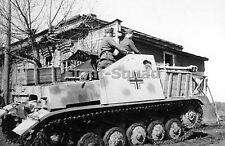 WW2 Picture Photo Russia 1943 Marder II tank destroyer Kohlenklau  1773