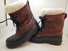 5dd04c7219f Velcro Leather Snow, Winter Boots for Men for sale | eBay